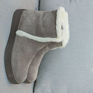Soludos Whistler lined taupe booties 10 / 41
